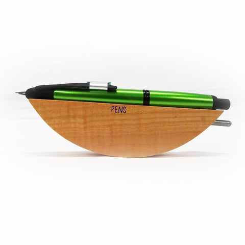 Pilot Capless Trend Fountain Pen Lime Green Body Black Trims Medium Nib