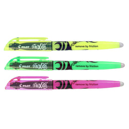 Pilot FriXion Erasable Highlighter Triple Pack in Yellow, Green and Pink