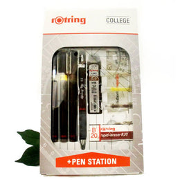 Rotring Rapidograph College Set S0699530 Rotring Rapidograph College Set