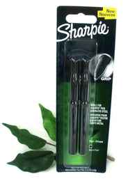 Sharpie Fine Marker Pen Refills Twin Pack Black *New Product* 1850221