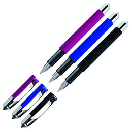 Stabilo beCrazy! Fountain Pen in Matt Black, Blue or Red