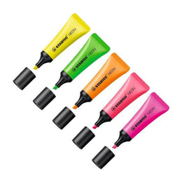 Stabilo Boss Neon Highlighter Yellow Green Pink Orange *New Product*