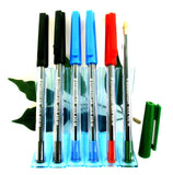 Staedtler 430-M Medium Stick Ballpoint Pen Multipack in Black, Blue, Red and Green x6