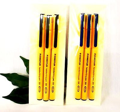 Staedtler Handwriting Pen 309 Black or Blue **Quantity Discounts**