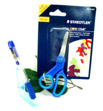 Staedtler Noris Club Left Handed Scissors 965 14 LN BK + Free Zebra Z-Grip Pencil