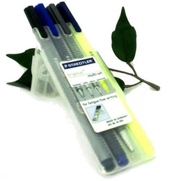 Staedtler Triplus Multiset Mobile Office Fineliner Ballpoint Pencil Highlighter