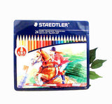 Staedtler Noris Club 145 Colour Pencil Tin Box - 3 sizes 12, 24 or 36