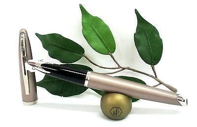 Waterman Carene Fountain Pen Island Sand Body with Silver Trims Special Edition