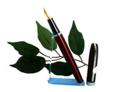 X-Pen Legend Fountain Pen Deep Burgundy Lacquer 405F