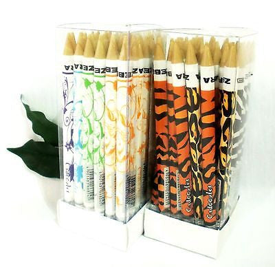 Zebra Cadoozle Mini Mechanical Pencils with Eraser 2 Designs *36 Pencils*