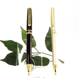 Zebra Sharbo Duo Pen & Pencil in one Special Purchase in Black & Champagne