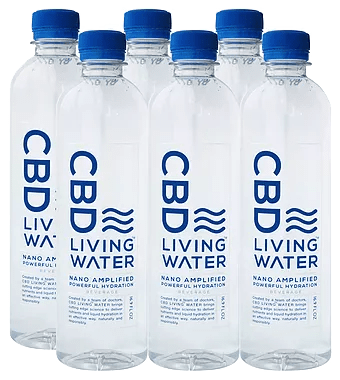 CBD Living Water - 99.5% Pure CBD - 250ml Bottle