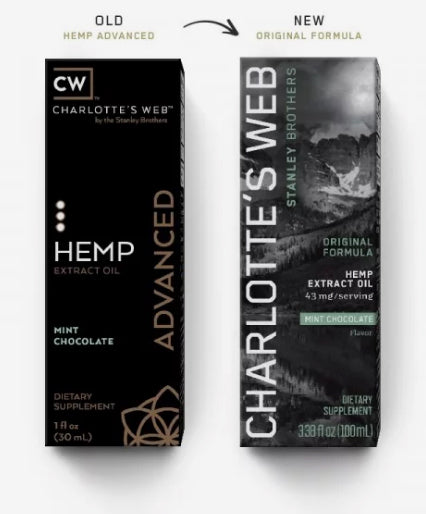 Charlotte's Web Original Formula (Advanced) CBD Oil - 30ml
