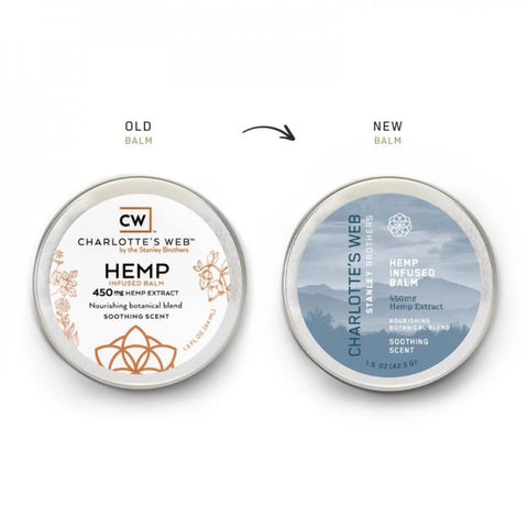 Charlotte's Web - Hemp Infused Balm - 0.5oz - 150mg