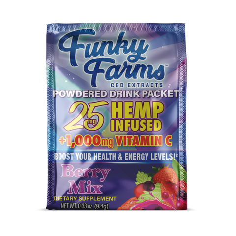 Funky Farms Drink Packet - Berry - 25mg