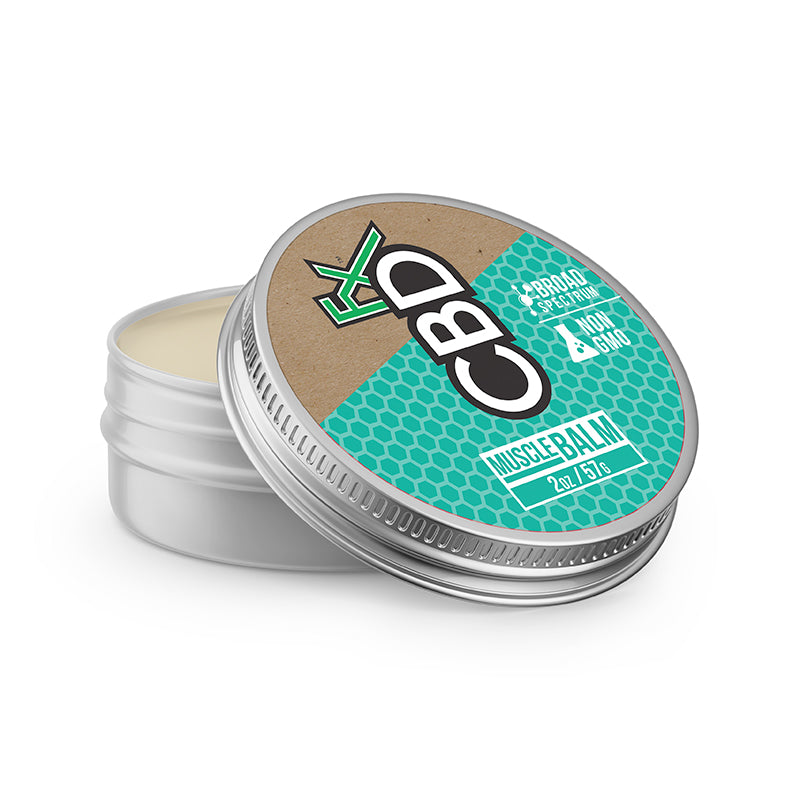 "CBDFx - 150mg CBD ""MUSCLE"" Balm - 2.0oz Tin"