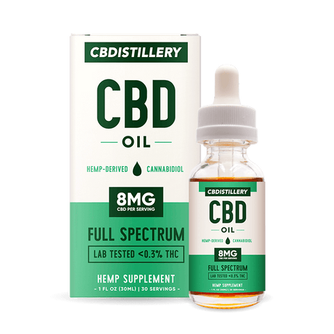 CBDistillery 250mg (8mg/1ml) - 30ml - Broad Spectrum