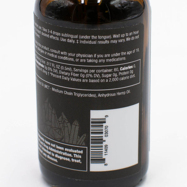 CBDistillery - 2500MG - 30ml - THC FREE (Isolate)