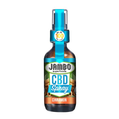 Jambo Superfoods - Cinnamon- 100mg CBD - 30ml - Spray