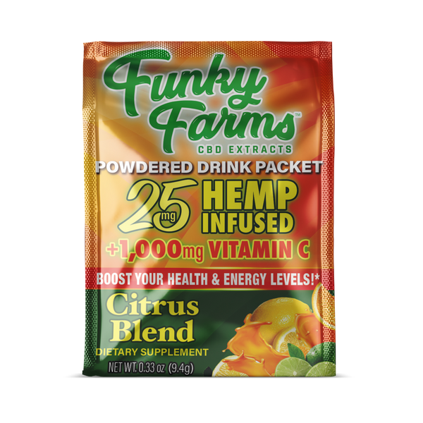 Funky Farms Drink Packet - Citrus Blend - 25mg