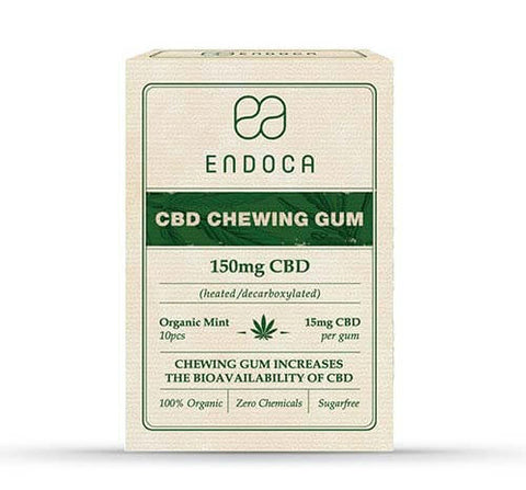 Buy Endoca Chewing Gum - The Hemp wellness Centre