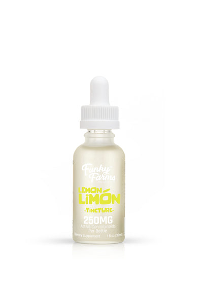 Funky Farms CBD - 250mg Tincture - 30ml - Various Flavours