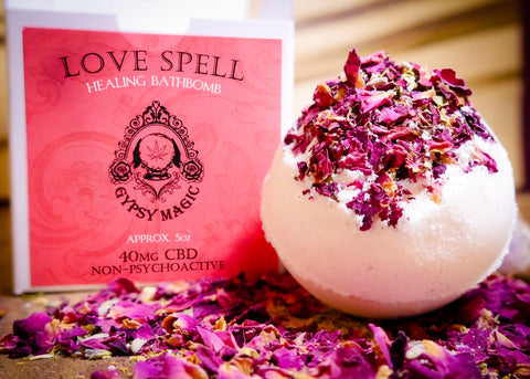 Gypsy Magic - Love Spell Bathbomb - 40mg