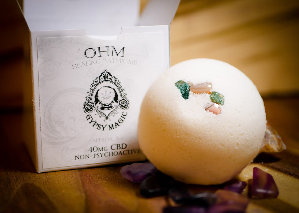 Gypsy Magic - OHM Bathbomb - 40mg