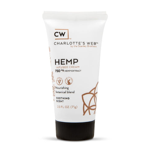 Charlotte's Web Hemp Infused Cream - 2.5oz - 750mg - SOOTHING SCENT
