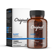 Original Hemp - Sleep Capsules - 25mg CBD - 30 Count