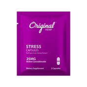 Original Hemp - Stress Capsule - 25mg CBD - Daily Dose