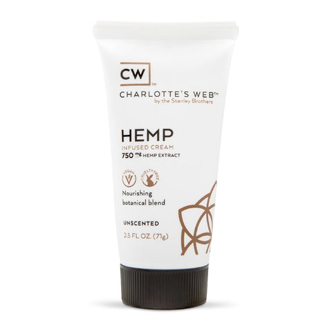Charlotte's Web Hemp Infused Cream - 2.5oz - 750mg - UNSCENTED