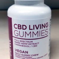 "CBD Living ""VEGAN"" Gummies - 10mg CBD Per Gummy"