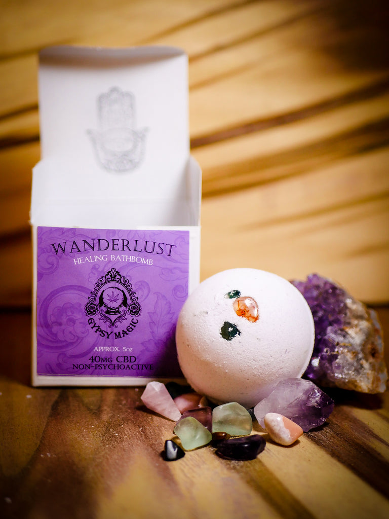 Gypsy Magic - Wanderlust Bathbomb - 40mg