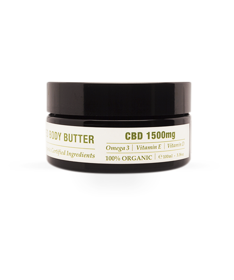 Endoca Hemp Whipped Body Butter - 1500mg CBD