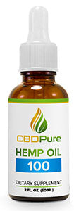 CBD Pure 100mg - 60ml - FULL SPECTRUM