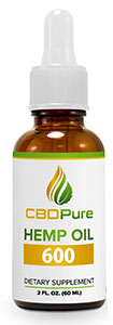 CBD Pure 600mg - 60ml - FULL SPECTRUM