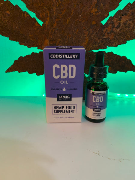 CBDistillery 5000mg (167mg/1ml) - 30ml - Broad Spectrum