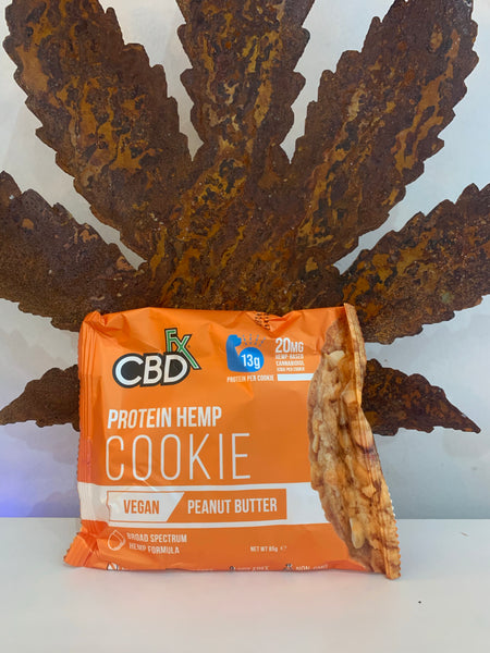 CBDFx Protein Hemp PEANUT BUTTER Cookie - 20mg CBD