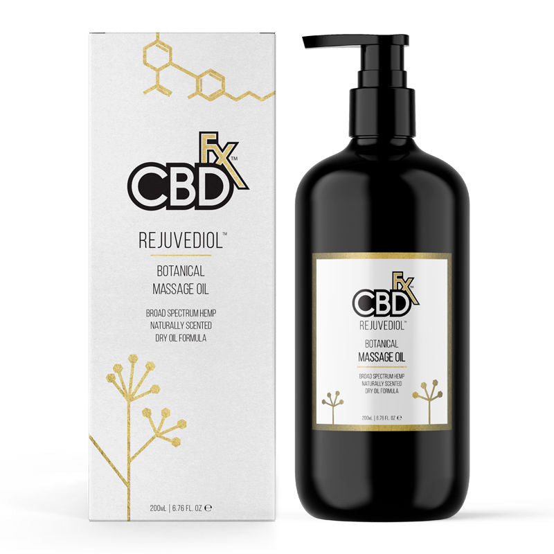 CBDFx Massage Oil - Rejuvidol