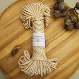 braided cotton rope for macrame and fibre crafts from Knot Modern macrame