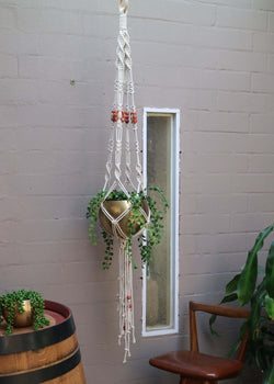 The Daisy Wall Hanging DIY Macrame Kit by Knot Modern