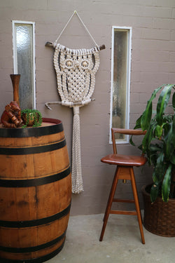 The owl - Big Al - macrame DIY kit by Knot Modern