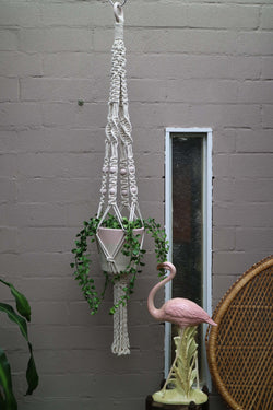 The Rebecca Pot Hanger DIY macrame kit by Knot Modern