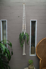 The Vicki Pot Hanger DIY macrame kit by Knot Modern