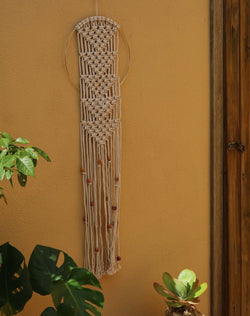 Dream Catcher wall hanging DIY macrame kit by Knot Modern
