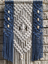 Willow coloured macrame wall hanging by Knot Modern