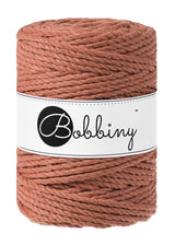 Bobbiny 3 PLY macrame Rope 5mm- range of colours available