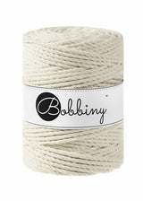 Bobbiny cord for macrame crochet and knitting sold by Knot Modern
