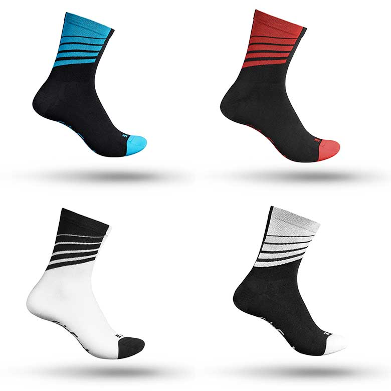 GripGrab Racing Stripes Socks